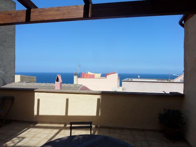 Vista dal terrazzo di casa