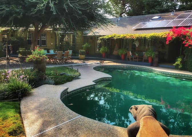 ★Heavenly Garden Retreat &Pool★ Yosemite | Nurses