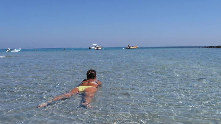 Cala Liberotto-Orosei-mare a 100 m