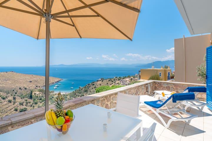 Luxury Maisonette 2, Stunning Views at Thea Villas