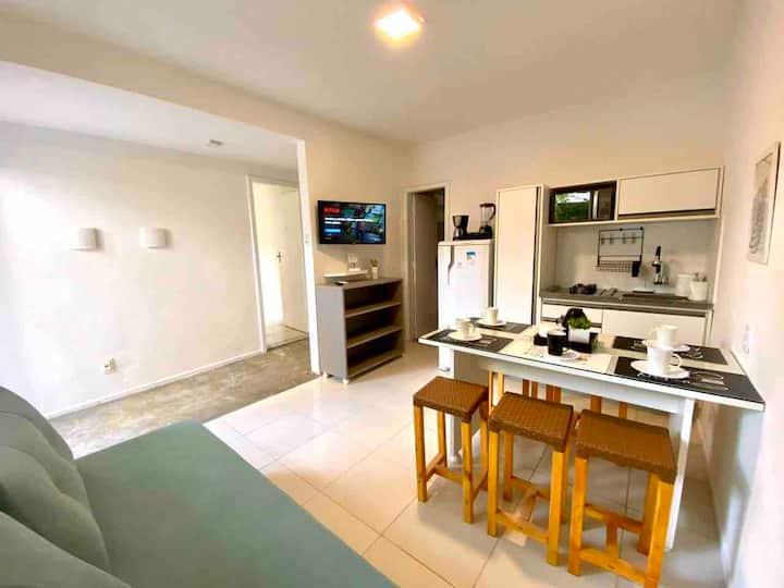 Flats MorrodeSP-Casa 2suítes/3banheiros-40m Praia