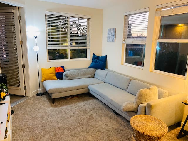 Nice bright and cozy apartment close to the Mall