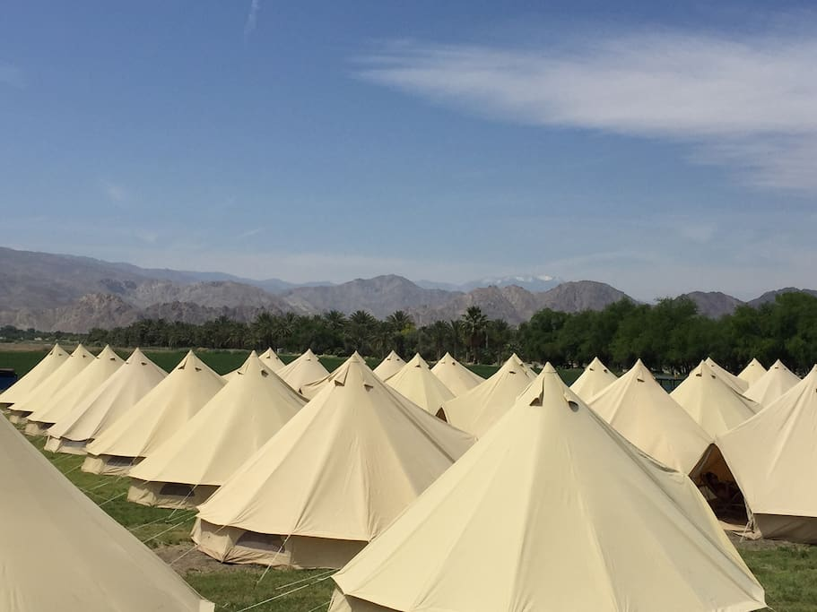 Base Camp Bell Tents