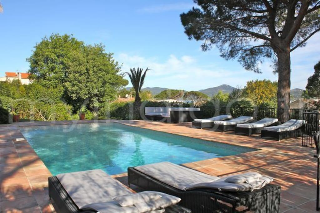 Villa In France With Heated Pool