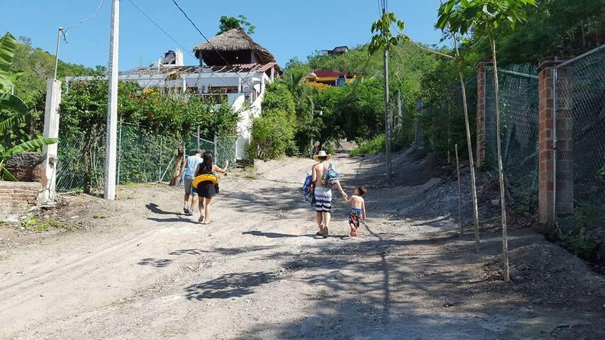 Casa Yaca - La Manzanilla, Jalisco - La Manzanilla - Bungalou
