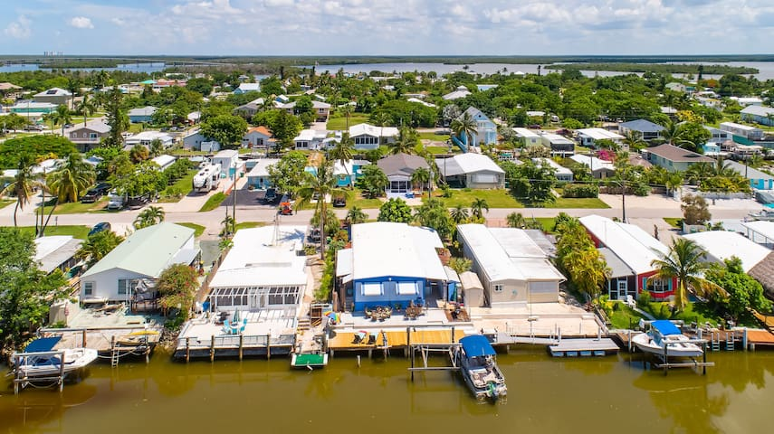 Marco Island/Goodland home with a view and nature!