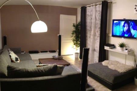 Beautiful flat 20min Paris Center and CDG airport - La Courneuve - Apartmen
