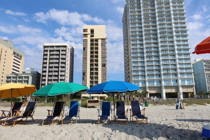 ⭐Oceanfront 2 Bedroom Suite w/Kitchen & Amenities