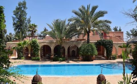 Villa in exceptional surroundings
