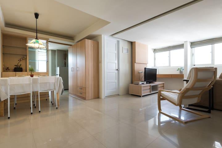 7. 西門樂活7號公寓(2 bedrooms Apartment) - 台北 - Bed & Breakfast