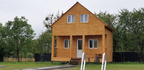 Cottage in Tianeti / Wooden Cottage