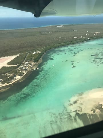 Arriving by plane to Little Cayman