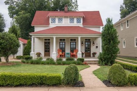 Bentonville Bungalow-Steps to Square, Museum&Trail