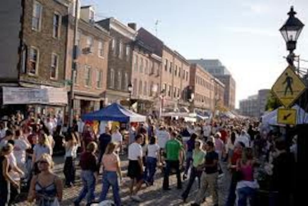 Fells Point fun festival - book your reservation while you can.