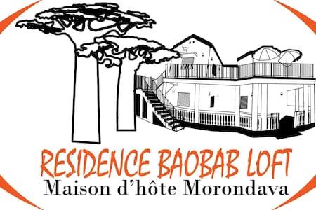 Résidence BAOBAB LOFT maison d'hôte Morondava