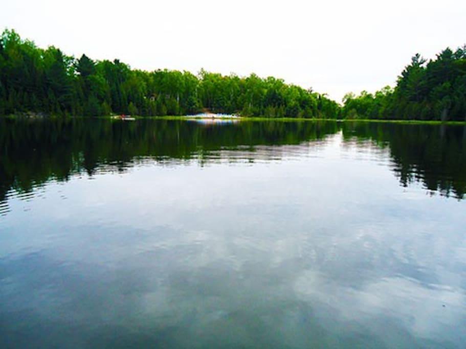 Pristine Private Lake