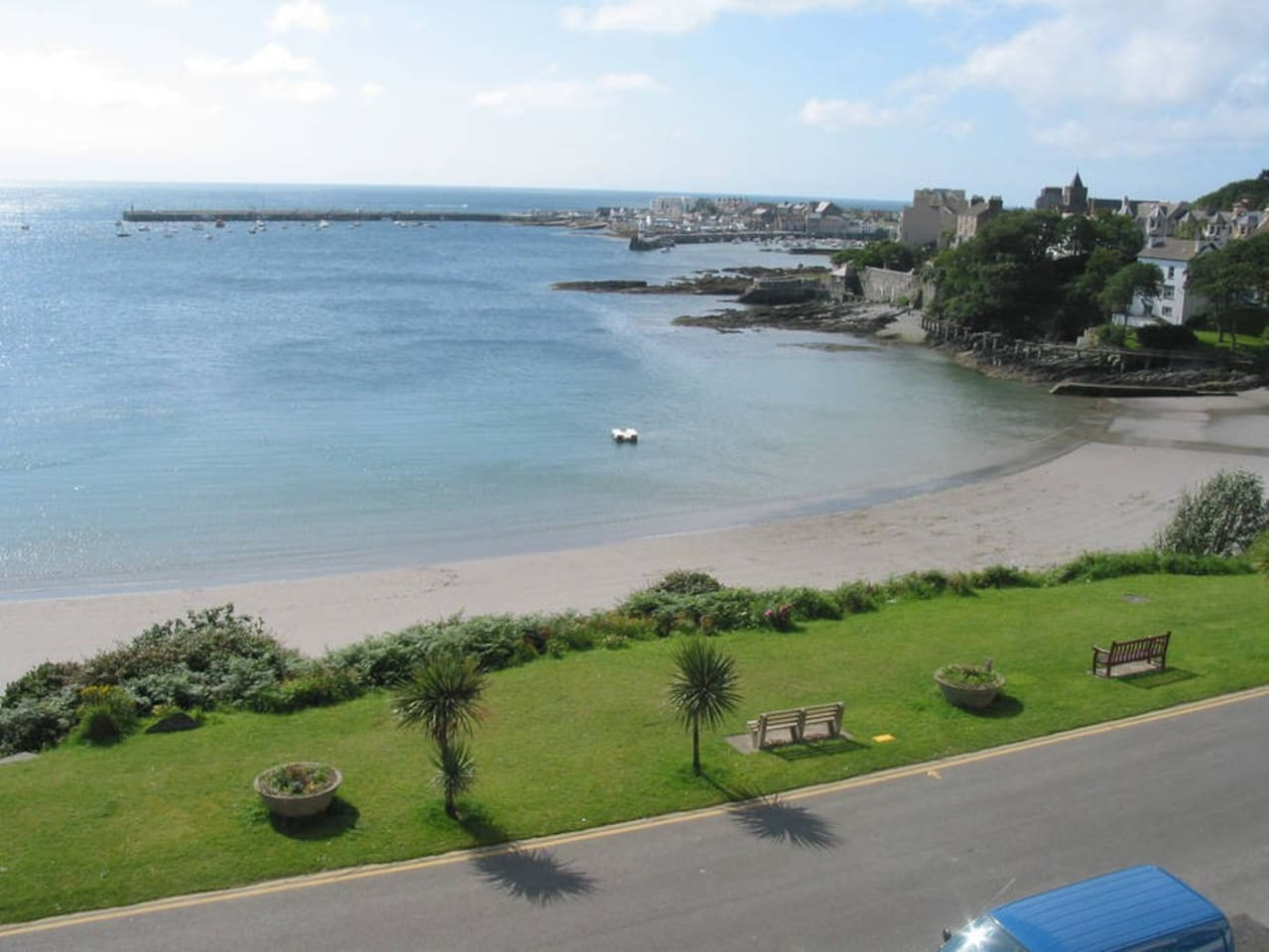 Port St Mary Bay - view from bedroom