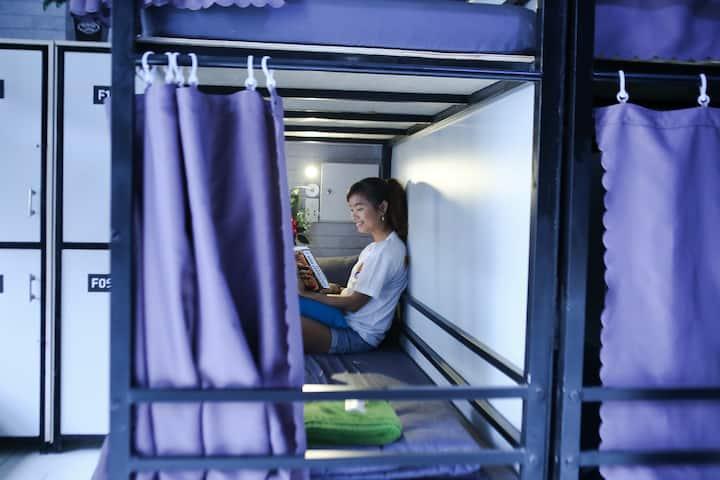 ✿Female Dorm Bed✿ TSN Airport★ S Phuot Hostel ★