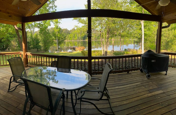 Beautiful Lake Murray Lake House, Dock & Boat Ramp