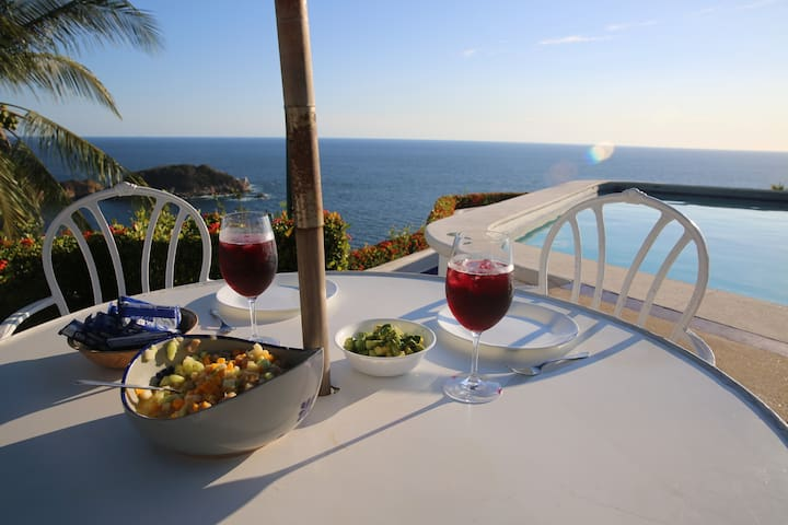 Spectacular clifftop view! - Acapulco - Apartment
