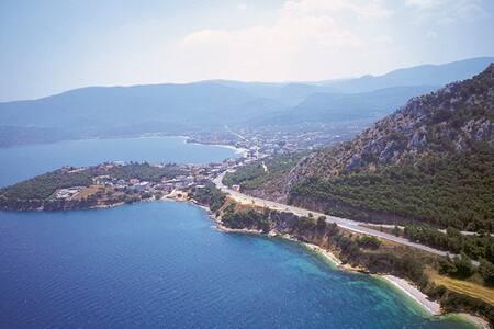 Cosy, Sea view studio/appartment - Saronikos