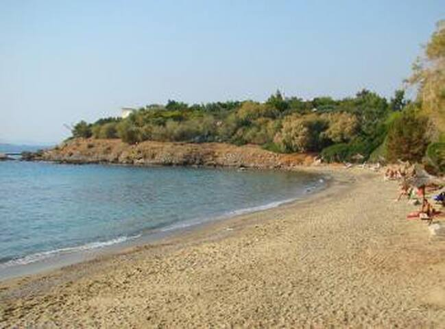 Garden Studio in Saronida 2min walk from the beach - Saronida - Appartement