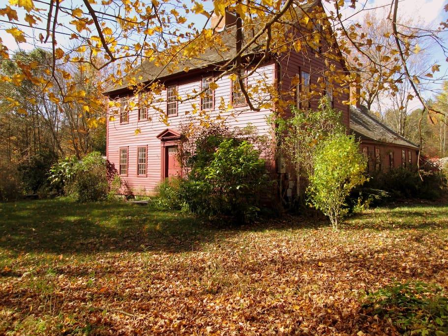 Henrietta House in fall.