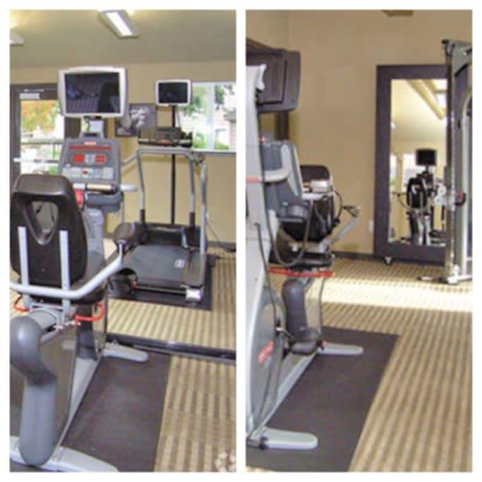 Fitness center access.
