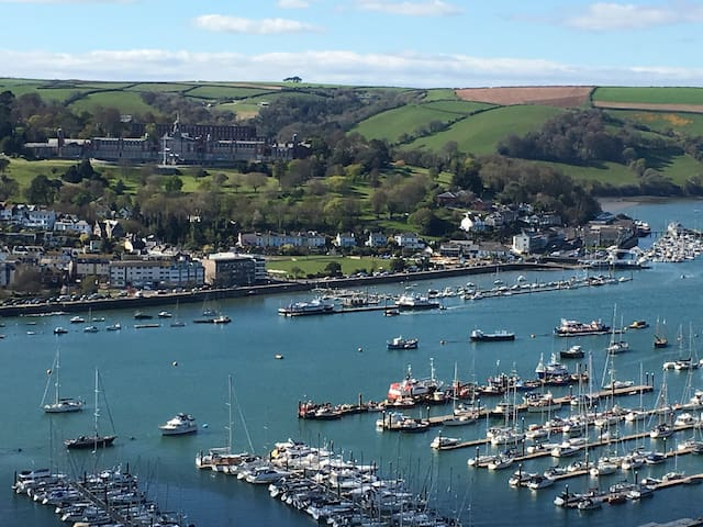 Stunning River View - 1 Bed Annex - Kingswear - Huis
