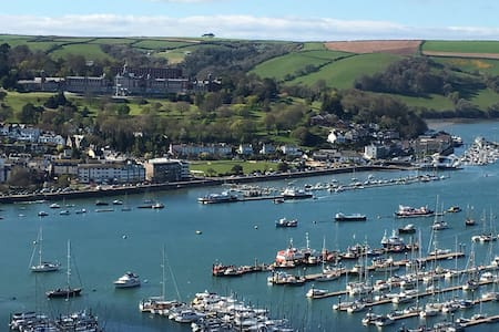 Stunning River View - 1 Bed Annex - Kingswear - Дом