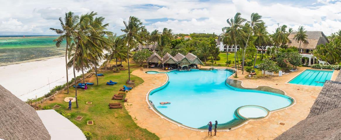 2 BR flat on Nyali beach  in Mombasa