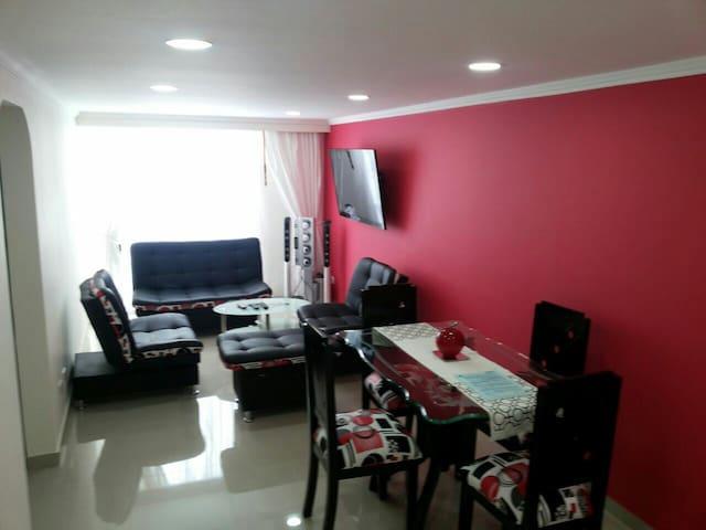Bogotá Económico Aeropto limpio nuevo tranquilo - Bogotá - Apartment