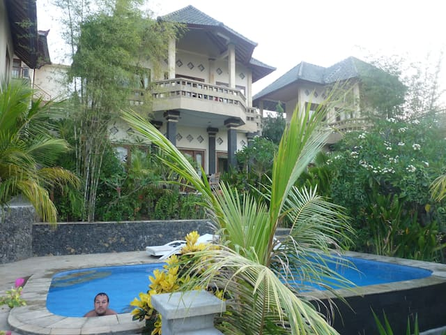 Anugerah Villas  Sunrise view