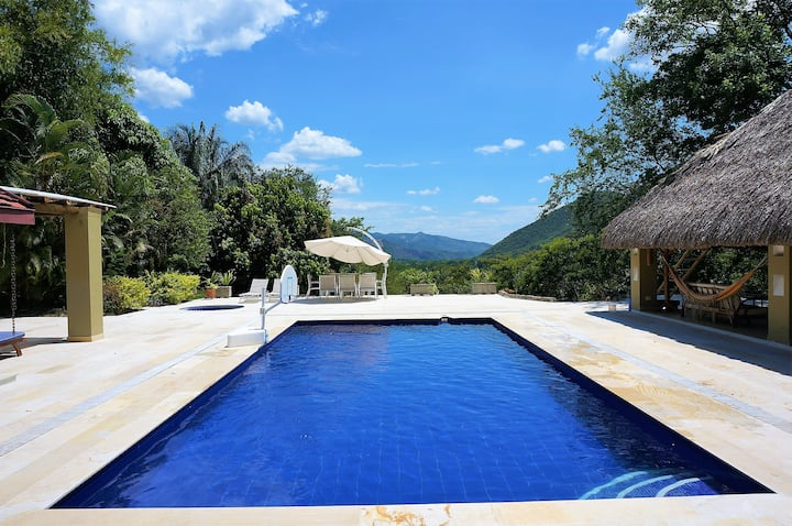 Great Villa at Exclusive Private Club in Apulo!