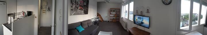 2 rooms flat 5 min to Orly airport 15 min to Paris