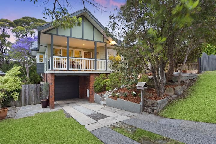 3 bd, 1.5 bth stylish manly vale home - Manly Vale - Maison