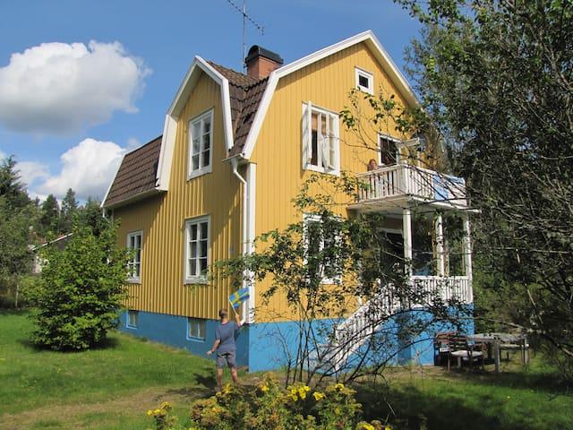 Villa Pippi Langstrumpf in Smaland - 1-7 Personen - Högsby - Rumah