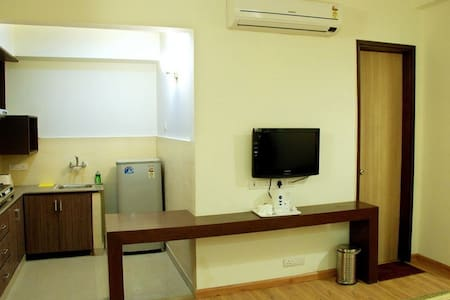P.K. Service Apartments are fully furnished apartments offering all modern amenities like Daily Housekeeping, Broadband Internet, LCD Television, Complimentary Breakfast etc to make your stay memorable.
