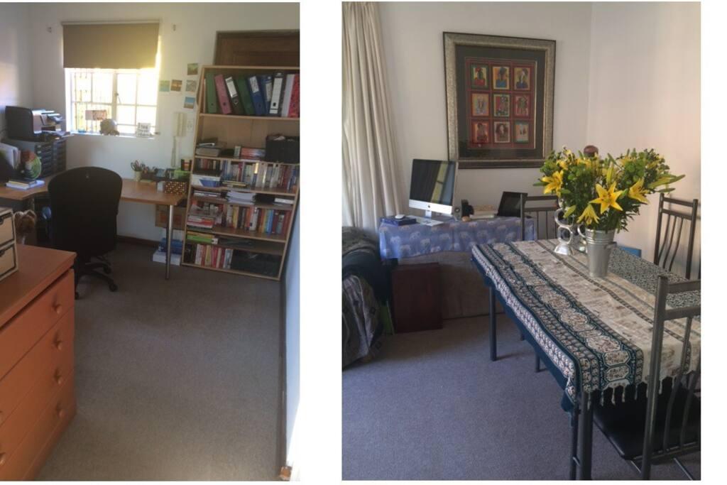 Lounge/office area