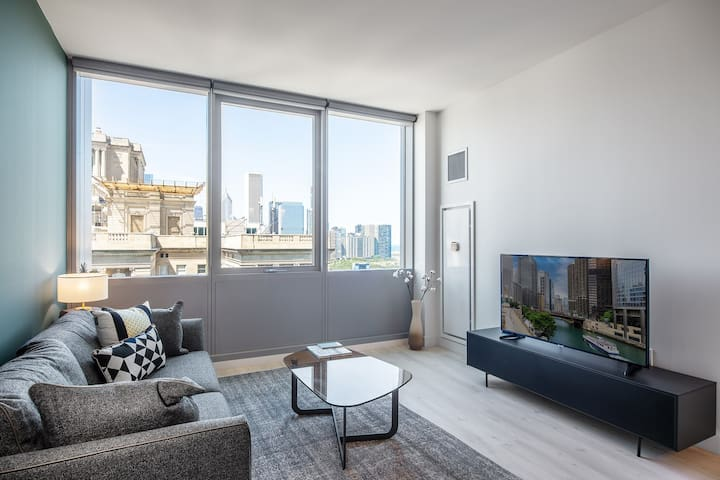 Lovely South Loop 1BR w/ Game Room + Gym near Grant Park by Blueground