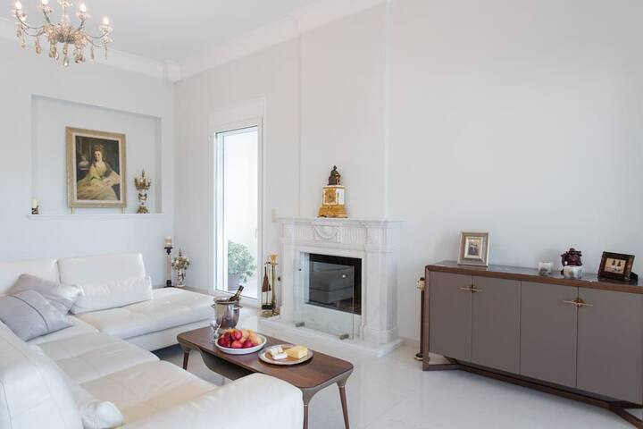 luxury Sea view Brand new villa on the sea. - Anatoliki Attiki - Villa