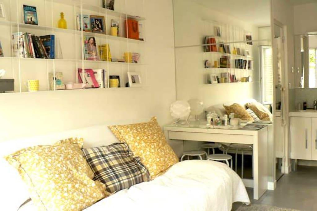 A comfortable living room.