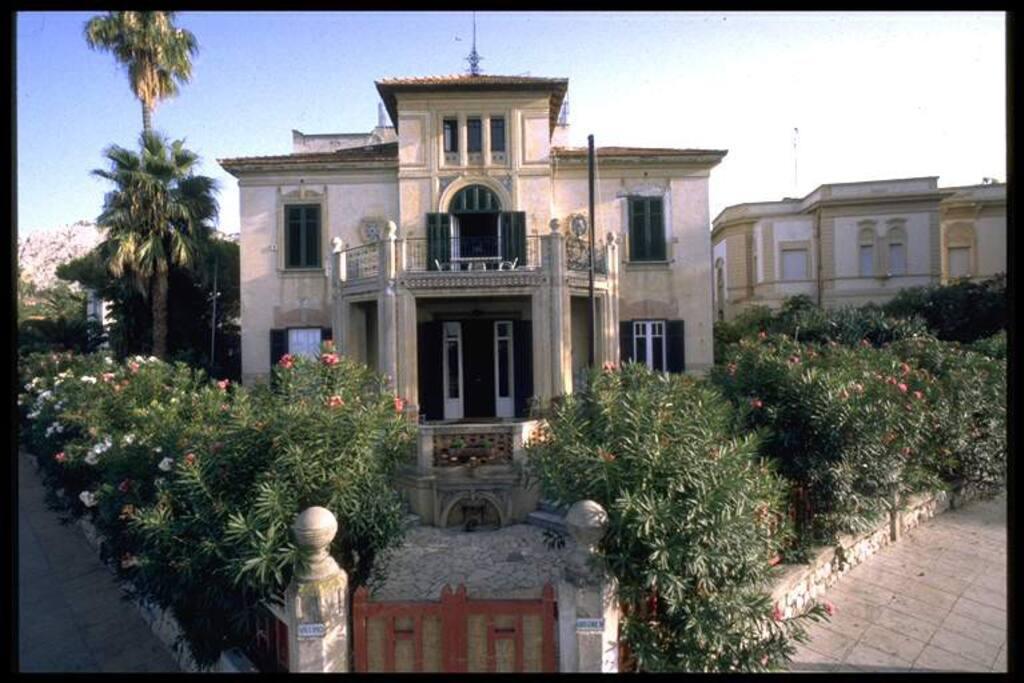 Villa Gregorietti - prospetto