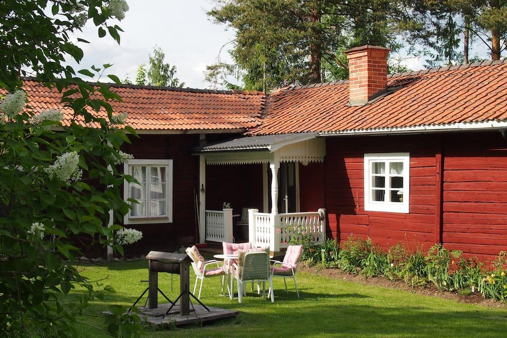 picturesque old cottage h user zur miete in bolln s schweden. Black Bedroom Furniture Sets. Home Design Ideas