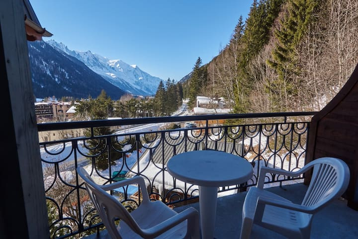 Spacious apartment, sauna & pool - Chamonix-Mont-Blanc - Flat