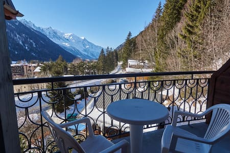 Spacious apartment, sauna & pool - Chamonix-Mont-Blanc