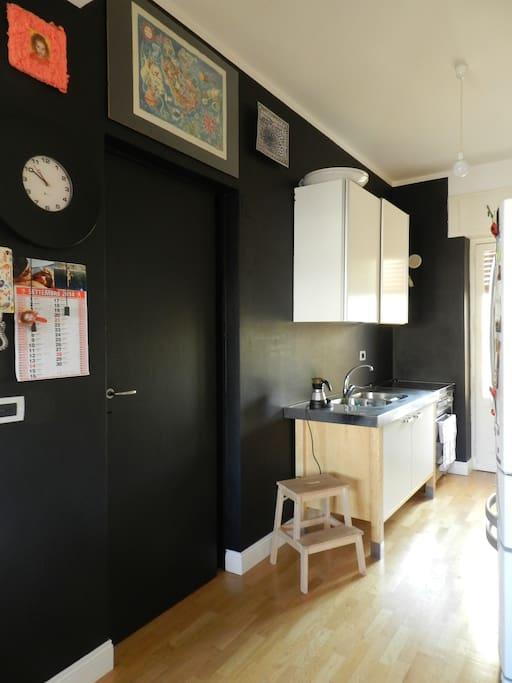 ingresso, cucina
