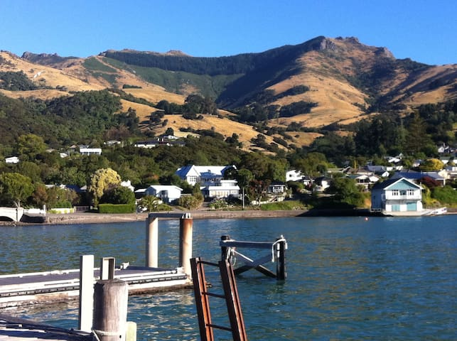 Sea view cottage, Akaroa NZ - Akaroa - Rumah