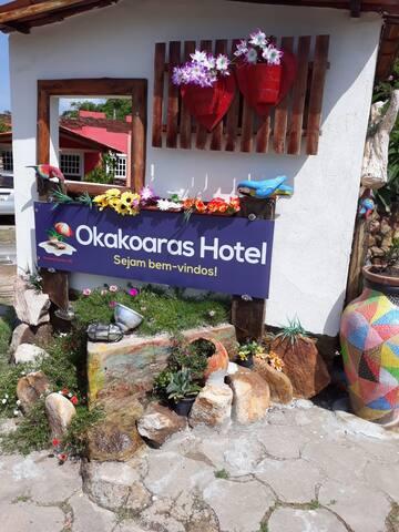 Chalé Nº 1 no Hotel Okakoaras em Maria Farinha
