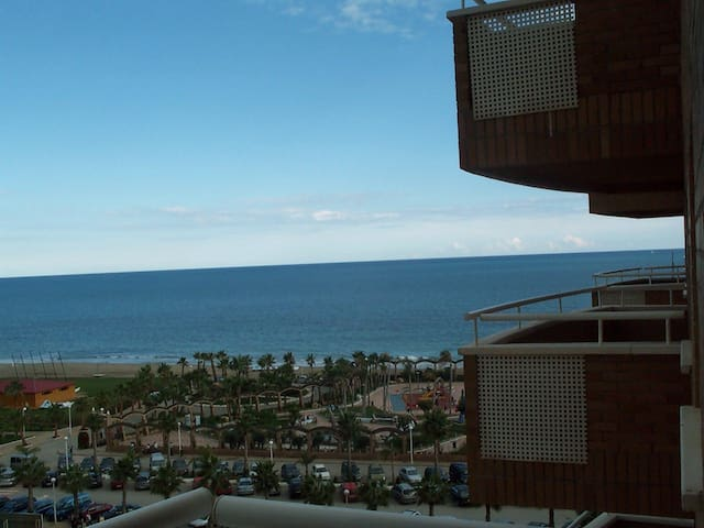 APPT IN OROPESA, SEA VIEW, 2 ROOMS (up to 6 ppl) - Oropesa del Mar - Leilighet
